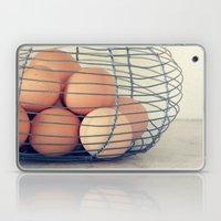 Vintage Eggs Laptop & iPad Skin