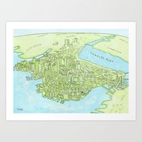 Boston Today Art Print