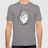 Handy Work Mens Fitted Tee Tri-Grey SMALL