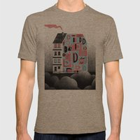 No. 26 Zine - D Mens Fitted Tee Tri-Coffee SMALL