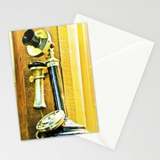 Ring, ring phone old. Stationery Cards