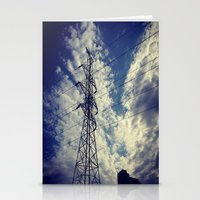 Heavenly Spring Sky In A… Stationery Cards