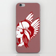 Angel of Mercy, Traditional American Tattoo Design iPhone & iPod Skin