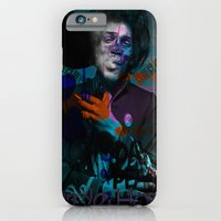 iPhone & iPod Case featuring HENDRIX'S DREAM by RIGOLEONART