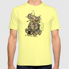 OF THE SAME THREAD Mens Fitted Tee Lemon SMALL