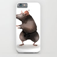 iPhone & iPod Case featuring Master Splinter by Elena Gianniki