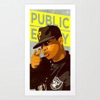 Chuck D Art Print