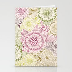 Floral Pattern #47 Stationery Cards