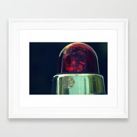 Bubble Light Framed Art Print