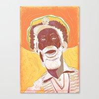 Bunny Wailer Canvas Print