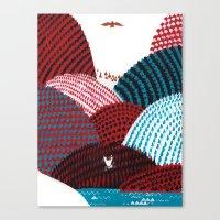 Russian Folk Tales - Tza… Canvas Print
