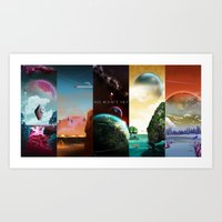 NMS - Series 1 Collection Art Print