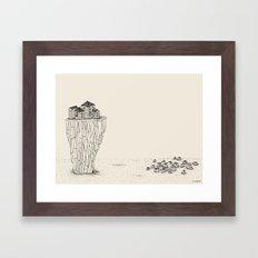 keep their dirty hands off... Framed Art Print