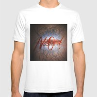 Calm DowNO! Mens Fitted Tee White SMALL