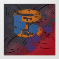 Rudimentary Supplantatio… Canvas Print