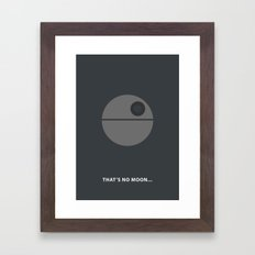 Star Wars Minimalism - D… Framed Art Print
