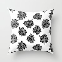 Spike Clusters Throw Pillow