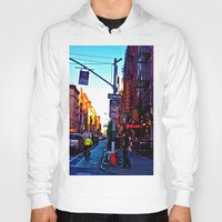 Sun Goes Down  in the City Hoody