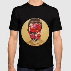that face Mens Fitted Tee Black SMALL
