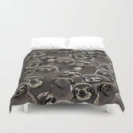 Duvet Cover - Social Sloths - Huebucket