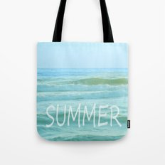 SUMMER. Vintage Tote Bag