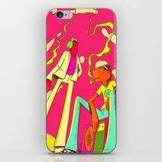 DJ BURGS iPhone & iPod Skin