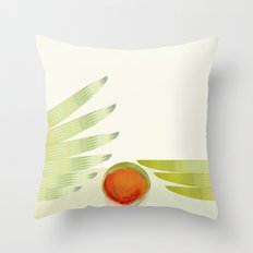 green 2   digital sessions Throw Pillow