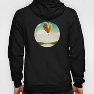 Flying Over The Lake Hoody
