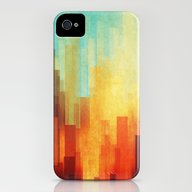 iPhone & iPod Case featuring Urban Sunset by SensualPatterns