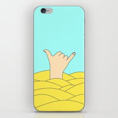 Shaka brah iPhone & iPod Skin