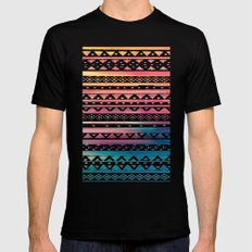SURF TRIBAL II SMALL Mens Fitted Tee Black