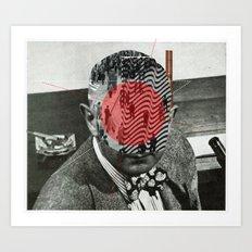 The Sur Real Man 1 Art Print