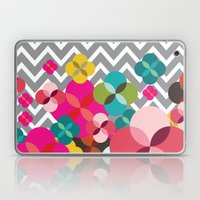 Chevron Blooms Laptop & iPad Skin