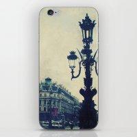 Paris in August iPhone & iPod Skin