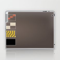 Maryland State Flag Deconstructed Laptop & iPad Skin