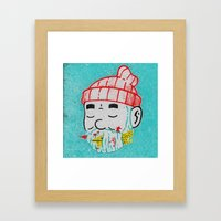 Aquatic Life Framed Art Print