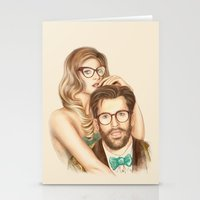 I Love Your Glasses Stationery Cards