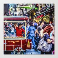 Istanbul Travel Diary - 05 Canvas Print
