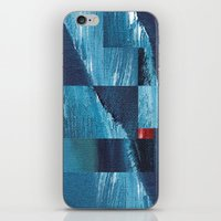Cracking Waves (Distant … iPhone & iPod Skin