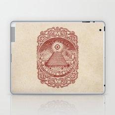 In Block We Trust (Red) Laptop & iPad Skin