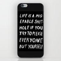 PLEASE iPhone & iPod Skin