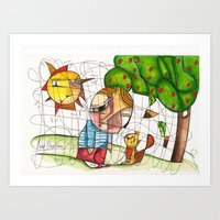 Do You Want To Play With… Art Print