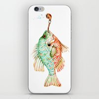 River Sunfish with a Pipe iPhone & iPod Skin