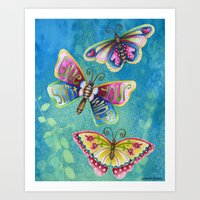 Give Your Spirit Wings  Art Print