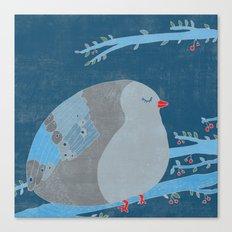 Bird of happiness Canvas Print