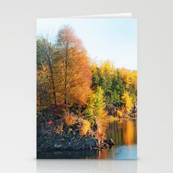 Changing Color Stationery Card