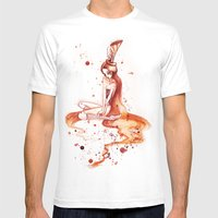 Ciana Mens Fitted Tee White SMALL