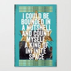 Hamlet Quote Canvas Print
