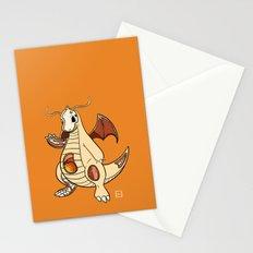 Dragonite Anatomy Stationery Cards