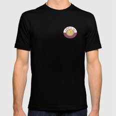 qeye Black SMALL Mens Fitted Tee